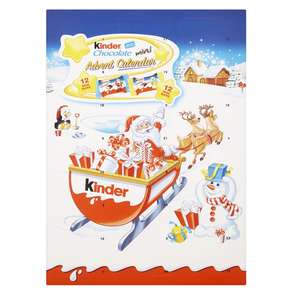 Kinder Seasonal Advent Calendar Chocolates, 135 g, Pack of 3 @ Amazon £6 Prime £12.49 Non Prime