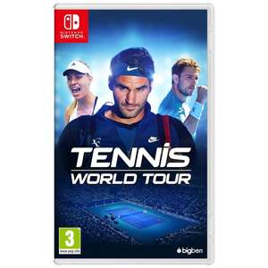 Tennis World Tour - Nintendo Switch - £15.00 Smyths