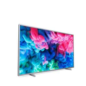 Philips 43PUS6523/12 43'' 4K UHD Smart TV HDR Plus, Freeview Play, Dark Silver(2018 Model) £299 / 50'' £349 / 55'' £429 / 65'' £599 @ Amazon