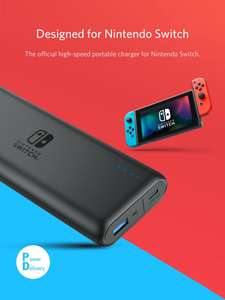 Anker PowerCore 20100 Nintendo Switch Edition £39.99 @ very.Co.uk