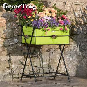 Grow Trug® Planter including £20 of veg seed - £14.99 / £19.94 delivered @ Thompson & Morgan