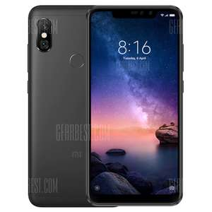 Global Version Xiaomi Redmi Note 6 Pro 4GB/64GB/ 4G Phablet- BLACK for £155.43 @ Gearbest