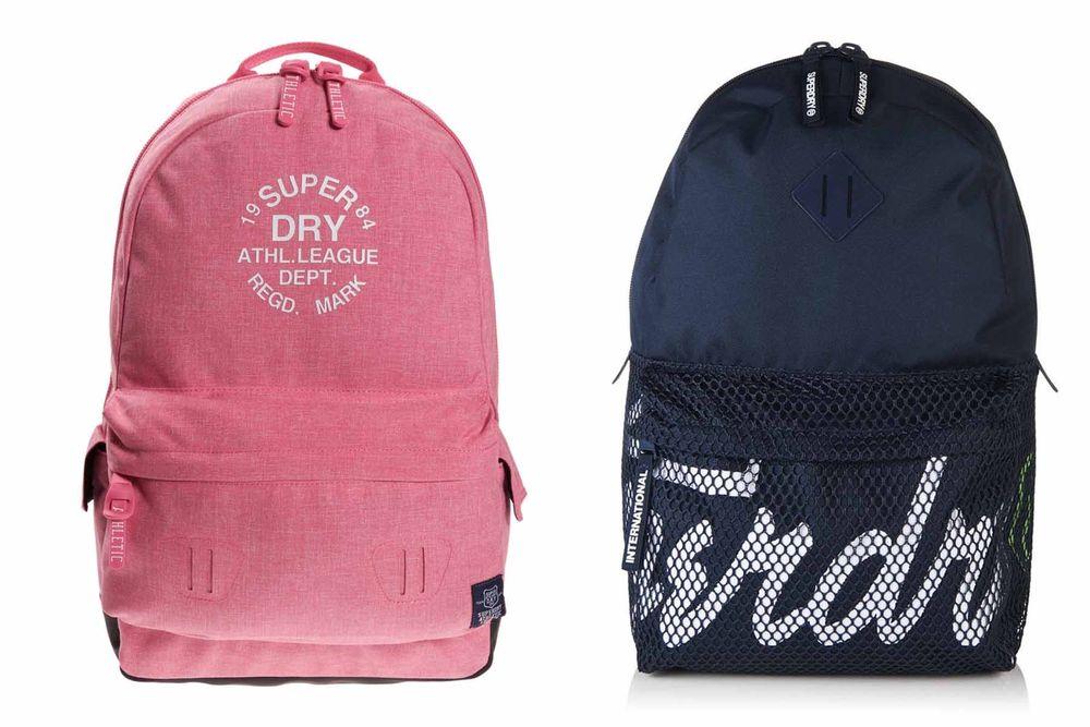 Superdry backpacks in 12 different designs / colours £13.99 delivered @ eBay sold by Superdry
