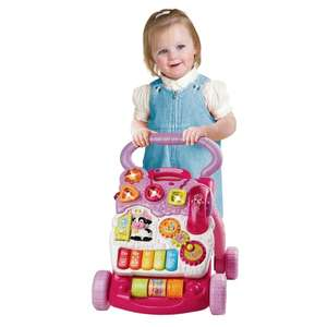 Vtech First Steps Baby Walker in Pink £19.99 @ Smyths Free C+C or Multi Colour reduced to £21.79 @ Amazon Prime