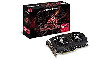 PowerColor Radeon RX 580 RED Dragon V2 Radeon RX580 Graphic Card 8192 MB - £194.99 @ Amazon