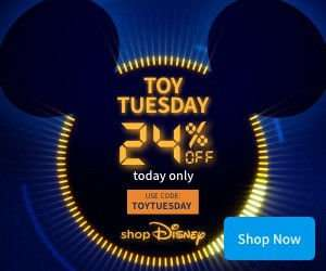 NOW LIVE: 24% off toys, fancy dress and stationary at shopDisney