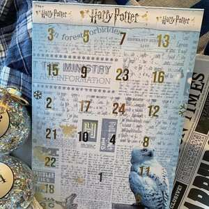 Harry Potter Jewellery Advent Calendar £15 instore / online from 19th November @ Asda George (in some stores now)