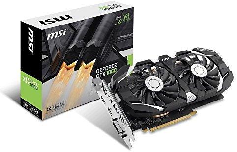 MSI NVIDIA Geforce GTX 1060 6GB 0CV1 GDDR5 - £218.99 @ Amazon