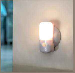 Portable Battery Light with Motion Sensor, Warm White LEDs @ Festive Lights £5.99 Delivered