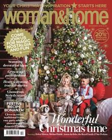 Free Christmas edition of Woman & Home magazine