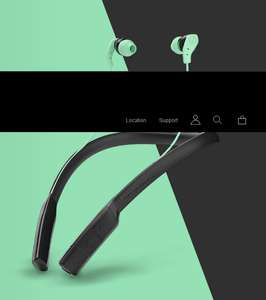 Skullcandy Method Bluetooth earphones £24.99 @ Skullcandy