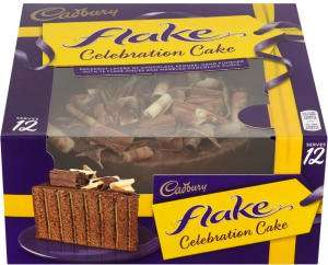 Cadbury Flake Celebration Cake - 12 Servings £3.49 @ Heron Foods