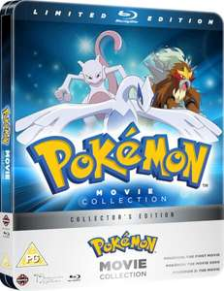 Pokemon 1-3 Steelbook Movie Collection £6.09 @ Base