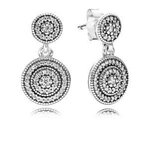 Pandora drop earrings ( was £60 now £29) at Pandora £34 delivered
