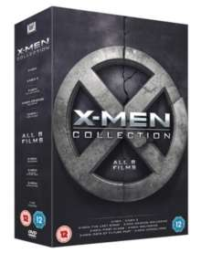 X-Men Collection Blu Ray (8 Films) £11.15 hive