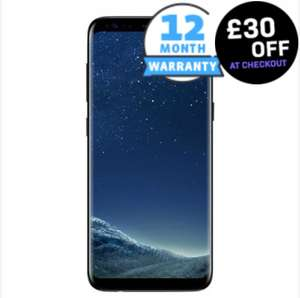 Samsung Galaxy S8 Plus 64GB - Refurbished Good - Locked To O2 £289.99 @ Music magpie
