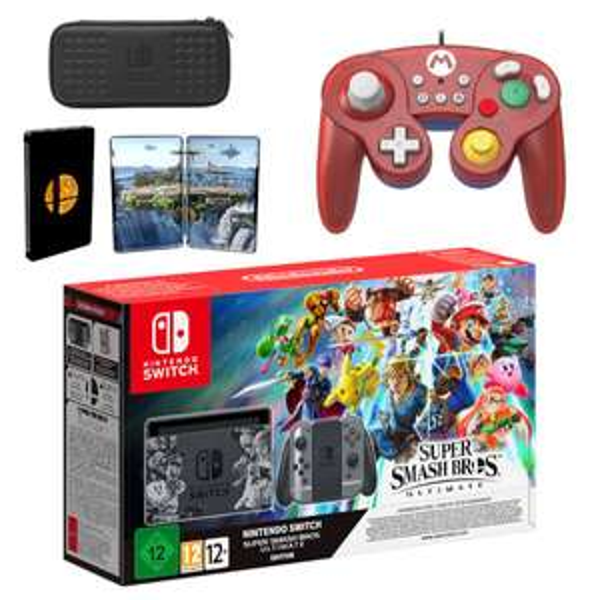 Nintendo Switch Super Smash Bros. Ultimate Edition Mario Pack £339.99 Nintendo