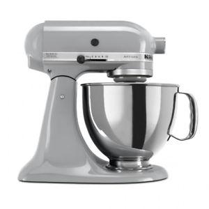 KitchenAid 4.8l Stand Mixer Metallic Chrome New £289 Free Delivery u-stores eBay