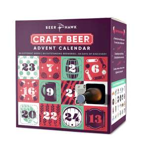 Beer Advent Calendar 2018 + FREE DELIVERY + 10% off First Orders When You Sign Up - £59.95