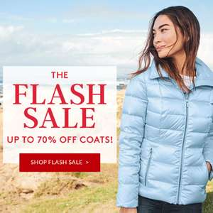 Flash Sale @ Landsend up to 70% off Coats and Jacket plus further 20% off with Code