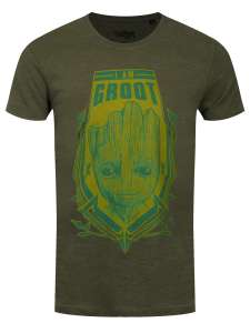 Guardians of the Galaxy I Am Groot Official Merch T-Shirt was £16.99 now £7.99. P+P £1.25 @ Grindstore.