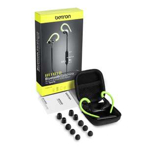 Betron BT1010 Wireless Bluetooth Headphones £9.59 prime / £14.08 non prime Sold by Betron Limited and Fulfilled by Amazon - Lightning deal