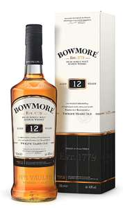 Bowmore 12 Year Old Single Malt Islay Whisky £25 @ Amazon - Prime exclusive