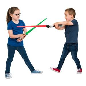 Star Wars Extendable Lightsaber Assortment £3 @ Smyths (In-Stores Only)