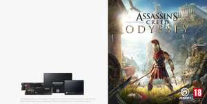 Buy a qualifying Samsung SSD for a free download of Assassin's Creed Odyssey PC Standard Edition RETAILERS in the OP