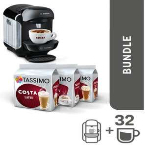 Tassimo Black Friday offers - 25% off + Discounted Coffee Machine Bundles​ + FREE £20 Coffee Credit NOW LIVE