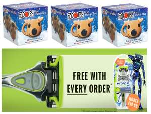 3 X Rudolph Heat Change Mug + Free Wilkinson Sword Razor for £10.99 Delivered @ Thegiftandgadgetsstore