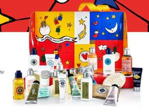 Offer stack - Advent Calendar worth £85, Bestseller Collection worth £30 + Gift Set worth £32 + Trio of Samples £64 Del @ L'Occitaine