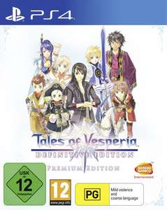 TALES OF VESPERIA: DEFINITIVE EDITION - PREMIUM EDITION - PS4 and XBOX ONE £64.99 (+6.99 Shipping) @ Bandai Namco Official Store