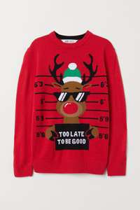 Boys Christmas jumpers £7.99 free delivery at H&M 4 different designs