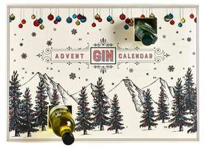 Gin advent calendar with 24 different gins £58 or £50.25 delivered with new customer code @ Iceland