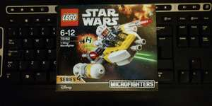 instore @ Co-op Store. Star Wars Lego Y-Wing Microfighter £2.25