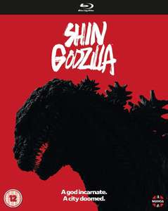 Shin Godzilla [2 Discs Blu-ray Set] £6.99 delivered @ Base [Also part of the 5 for £30 offer they are running on Manga / Anime Blu-rays]