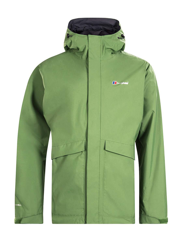 Amazon Berghaus Men's Dalemaster Waterproof Jacket - Size M / Colour Kale - £33.76