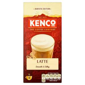 Kenco Latte all flavours half price Tesco £1.25 8 Sachets
