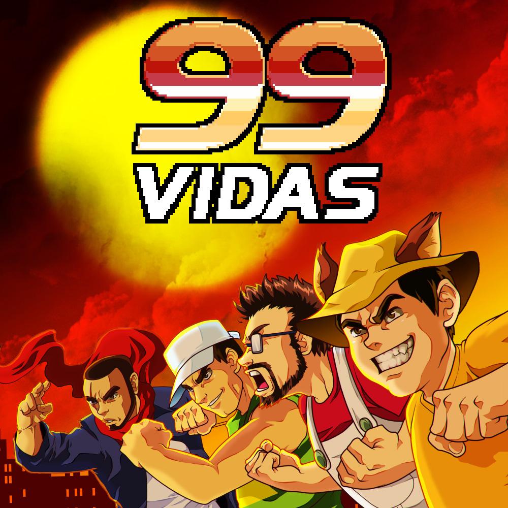99 Vidas - Retro-style indie brawler, 4 player local MP - £6.39 @ Nintendo Store