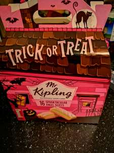 Mr Kipling spooktacular angel slices 16 £1 @ Heron