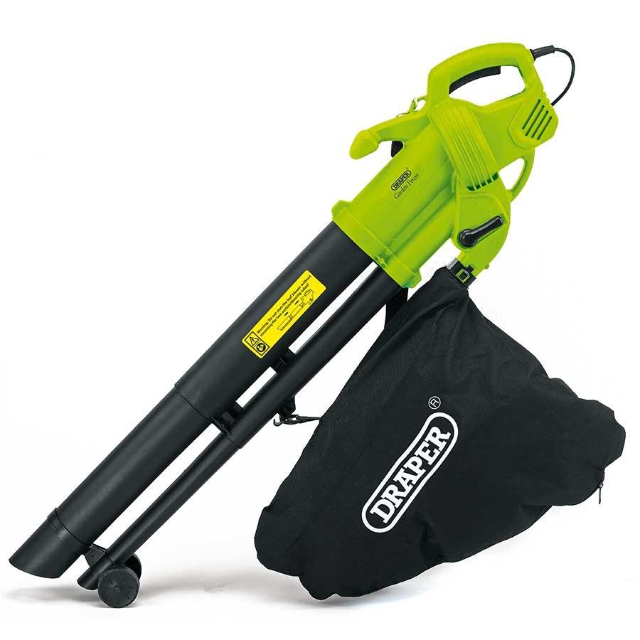 Draper 3000W 3-in-1 Garden Vacuum, Leaf Blower & Mulcher, 35L, 15m Cable now £26.99 using code @ Robert Dyas (Free C&C)