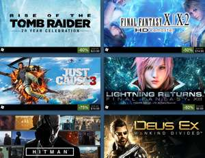 Final Fantasy Sale at  PlayStation PSN Store US + MORE