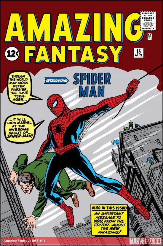 Amazing Fantasy (1962) Comic (Online) Free @ Marvel