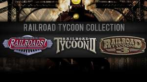 [STEAM] Railroad Tycoon Collection - £2.49 - (75% off)