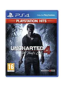 PlayStation Hits (PS4) Uncharted 4: A Thief's End [£12.85] /Uncharted Collection [13.85] BASE.com
