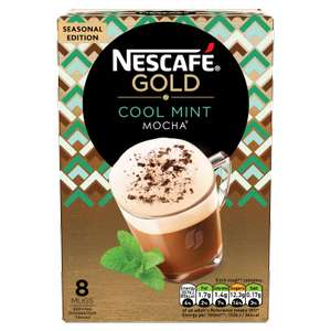 Nescafé Gold Cool Mint Mocha 8 sachets for £1.50 in-store/online at Tesco (others in description)