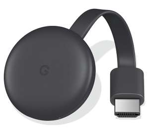 Google Chromecast 3rd Gen. £20 with 2 year guarantee (£2 C&C) Online & In-Store @ John Lewis & Partners