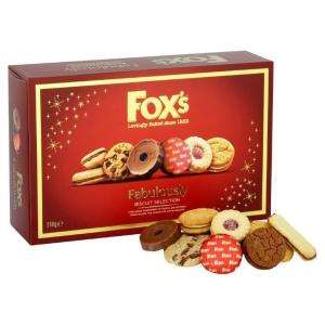 Fox's 550g Fabulously biscuit selection only £2.50 @ Onestop