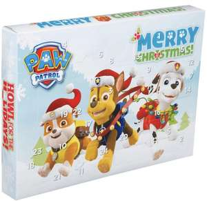 Paw Patrol stationary advent calendar £5 at Well Pharmacy in store
